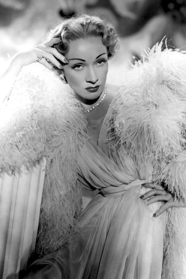 Актриса Марлен Дитрих (1950)