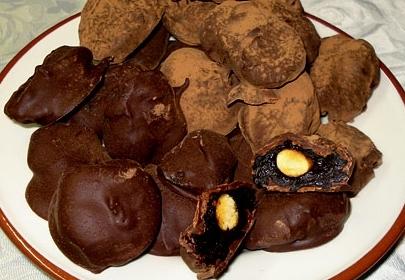 Рецепт чернослив с миндалем