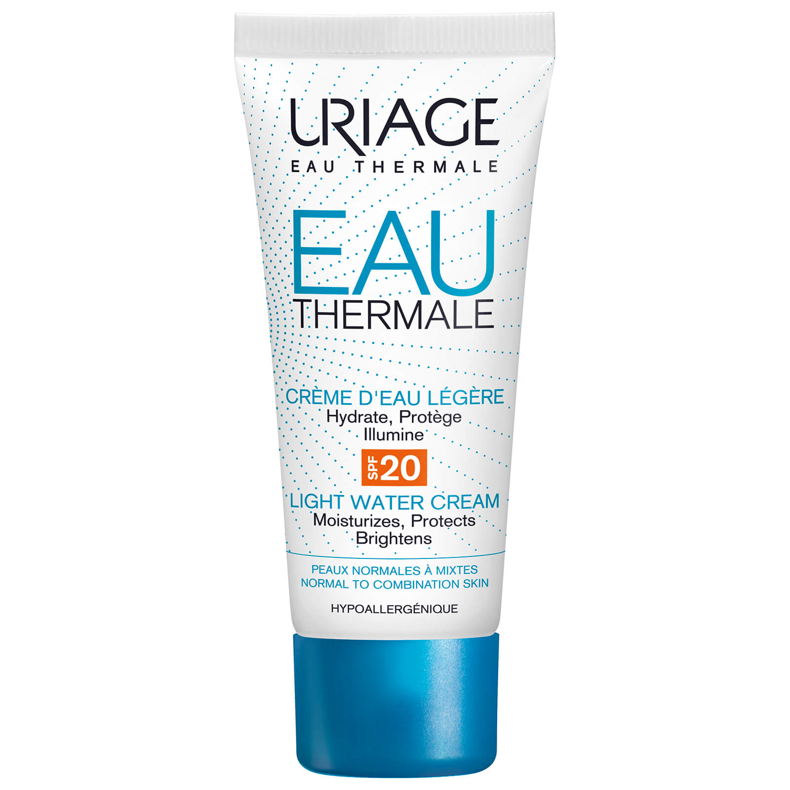 Eau Thermale Light Water Cream SPF20, Uriage, 425 грн