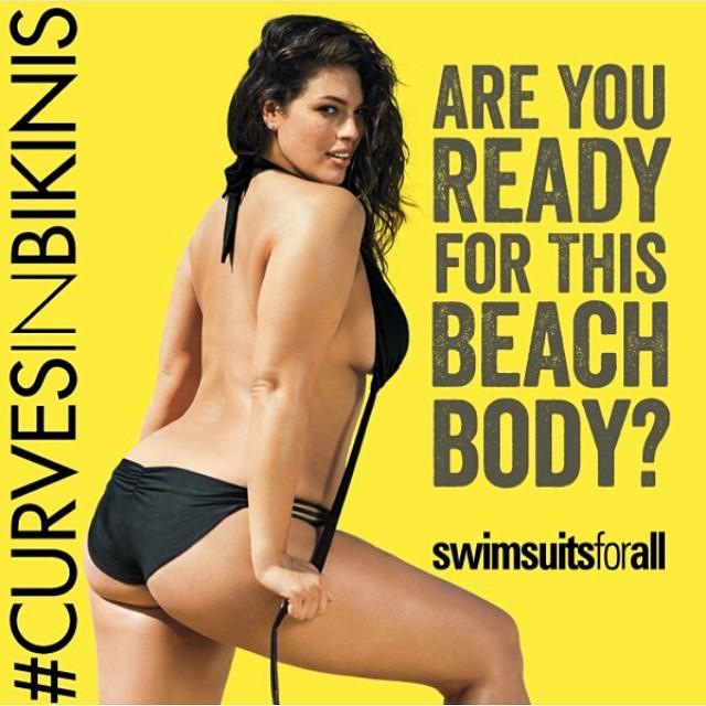 Модель Эшли Грэм уверена, что полным женщинам не стоит скрывать свои формы