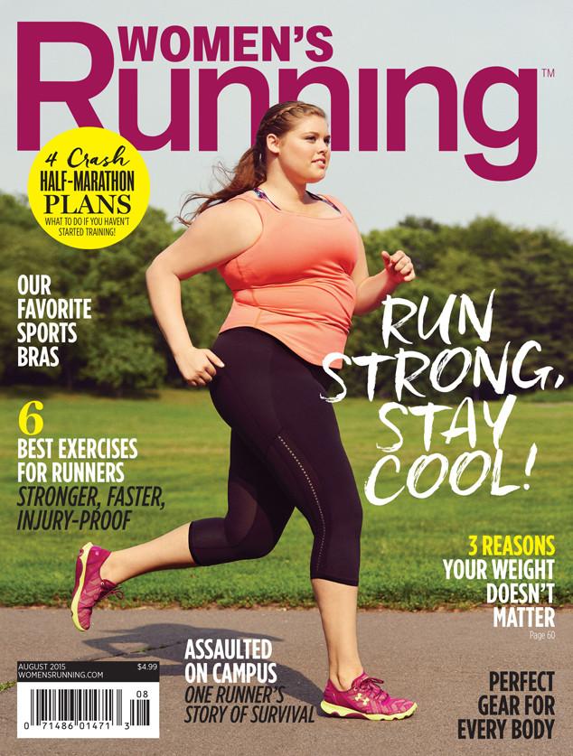 Модель Эрика Жан Шенк в фотосессии для Women's Running