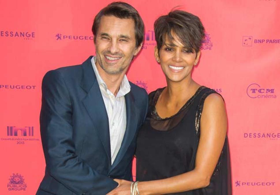Холли Берри с мужем Оливье Мартинесом
