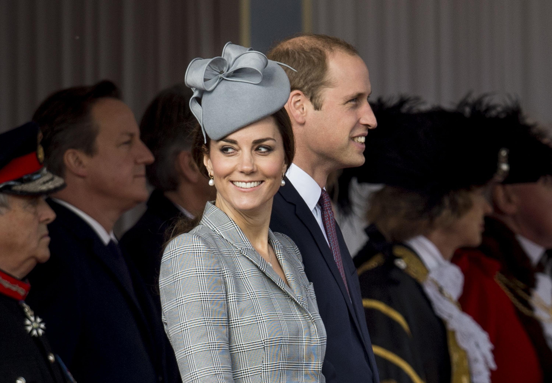 Беременная Кейт Миддлтон посетила важное государственное мероприятие