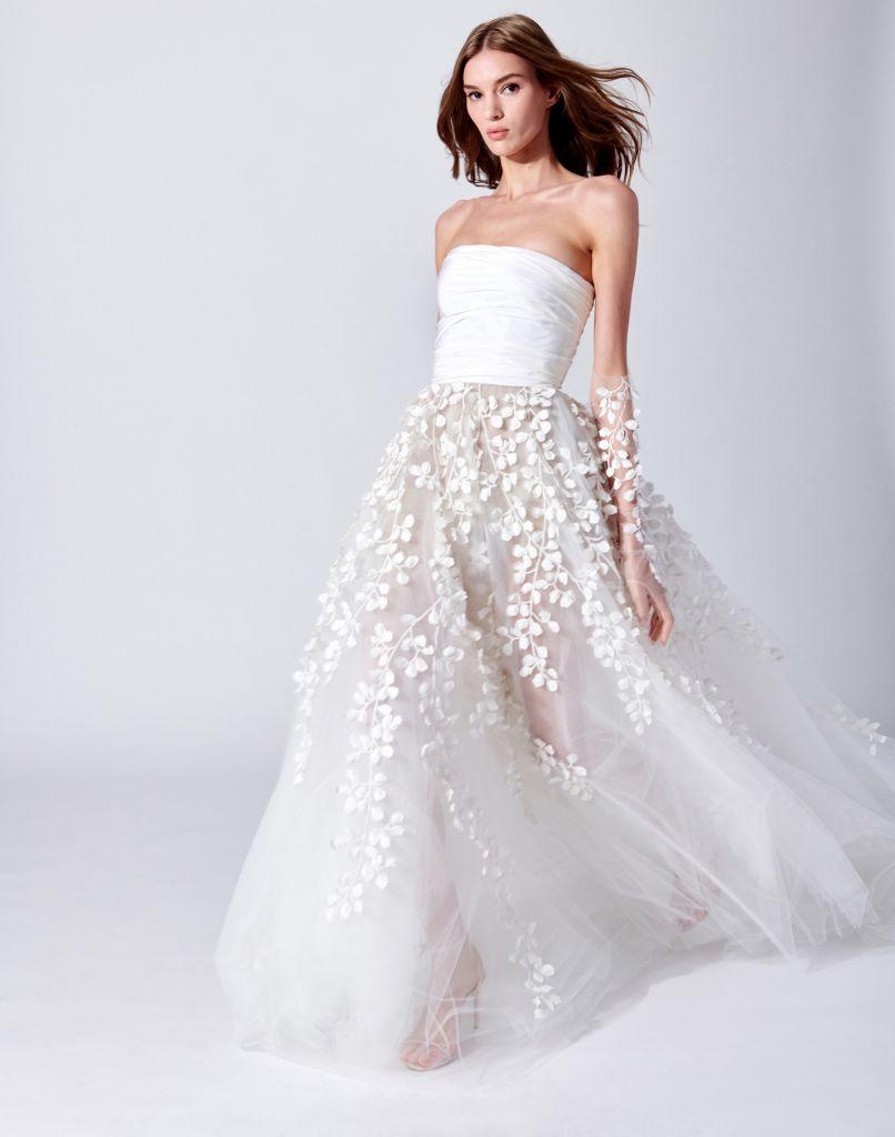 Любая американка мечтает на собственной свадьбе блистать в платье от Carolina Herrera