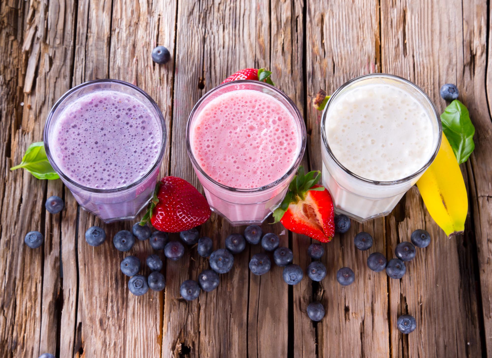 Фруктовый молочный коктейль: топ летних рецептов