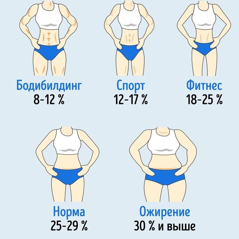 Анита Луценко рассказала, сколько должно быть жира в теле
