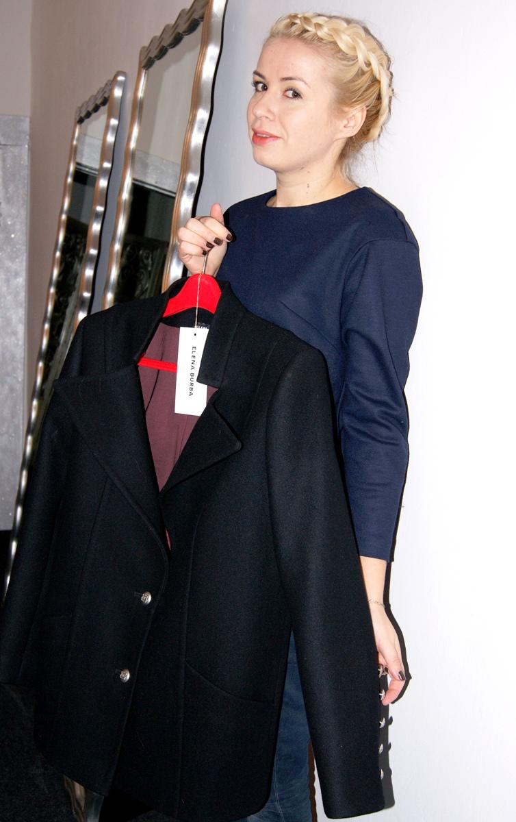 Дизайнер Елена Бурба: Пальто-пиджак базового цвета - это универсальный вариант