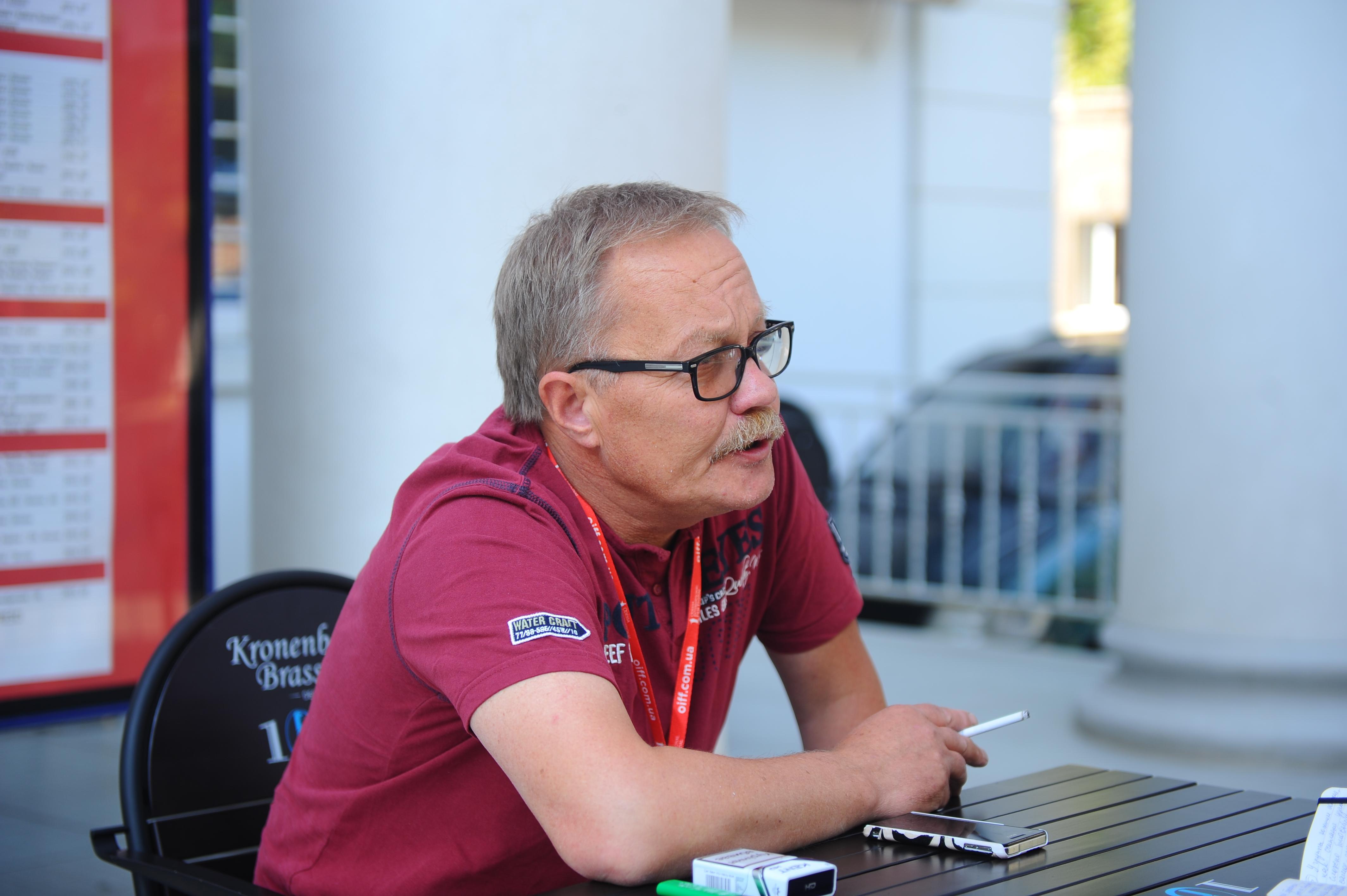 Сергей Буковский на ОМКФ 2015