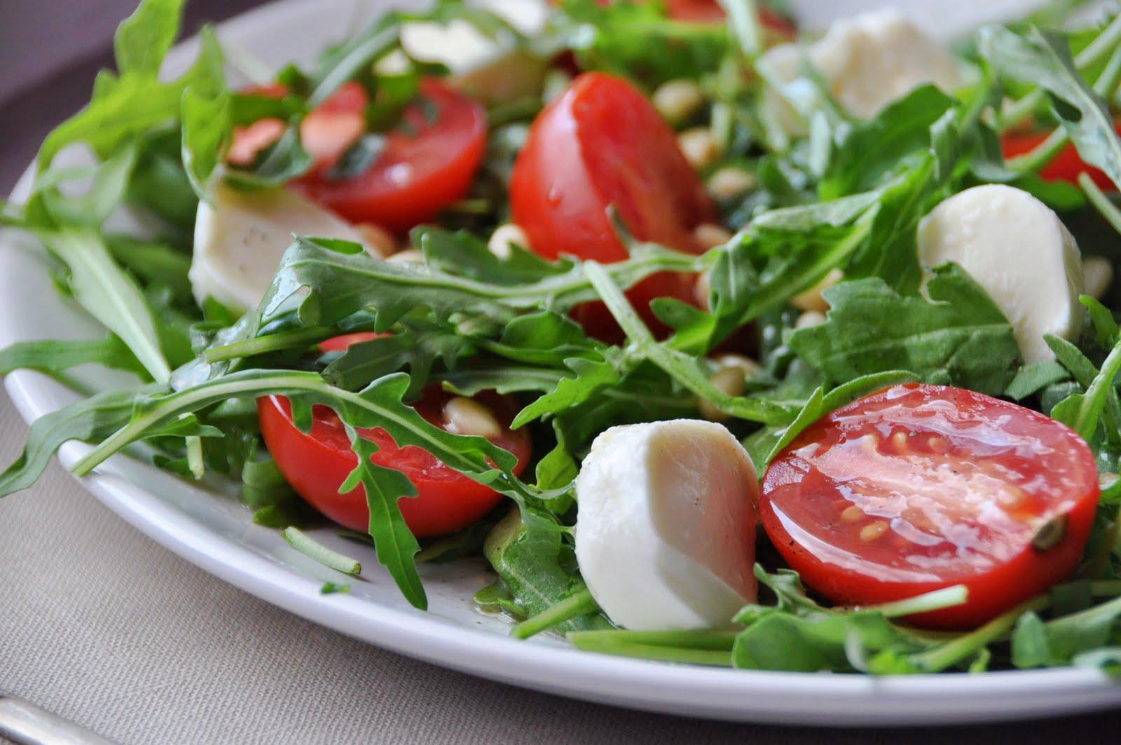салаты из овощей