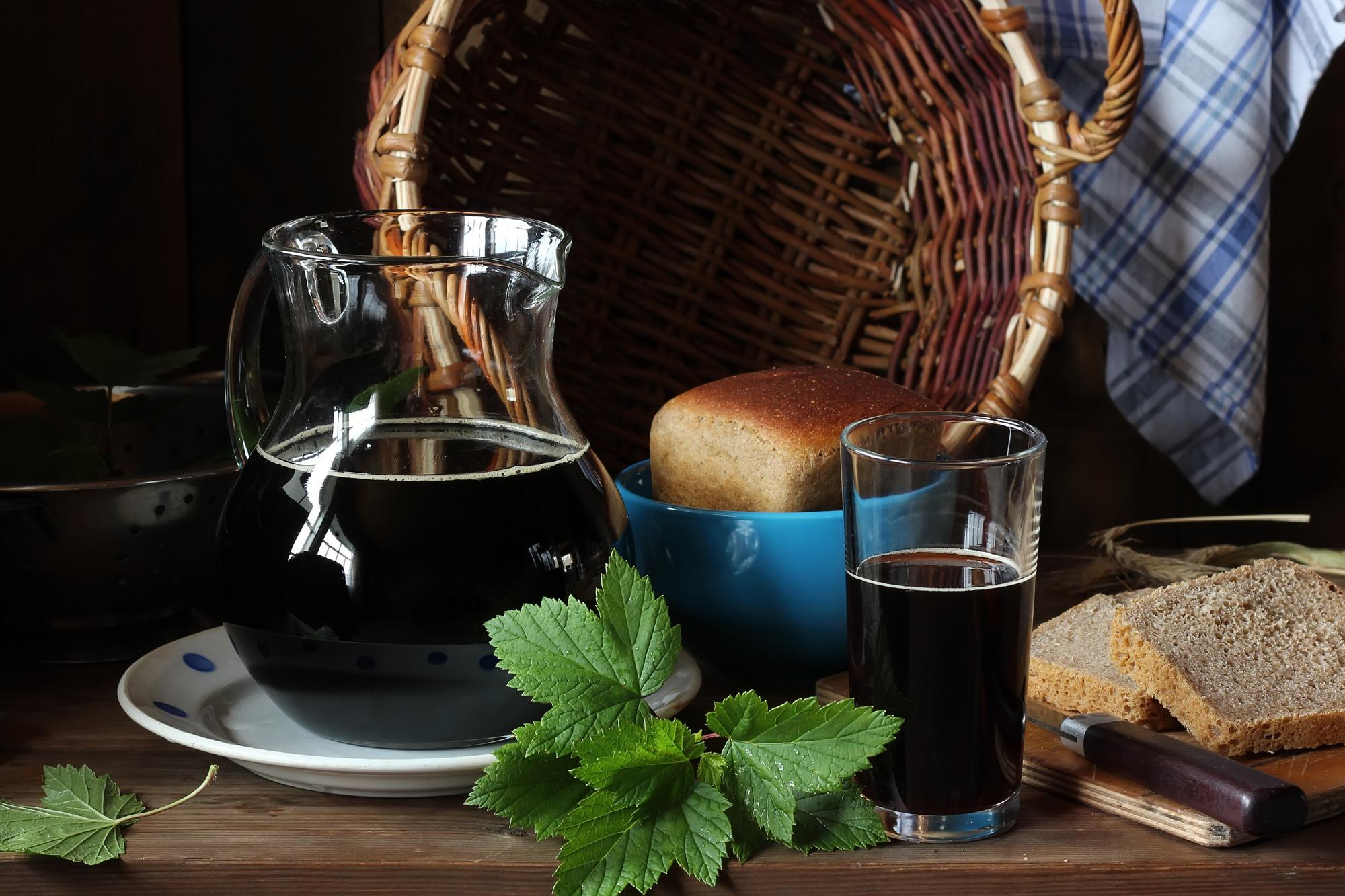 Домашний квас: топ-5 рецептов любимого напитка