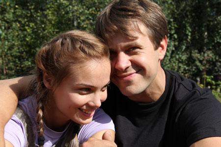 Татьяна Арнтгольц и Сергей Перегудов