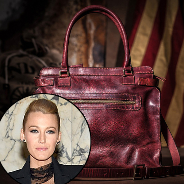 Актриса Блэйк Лайвли назвала сумку именем дочери