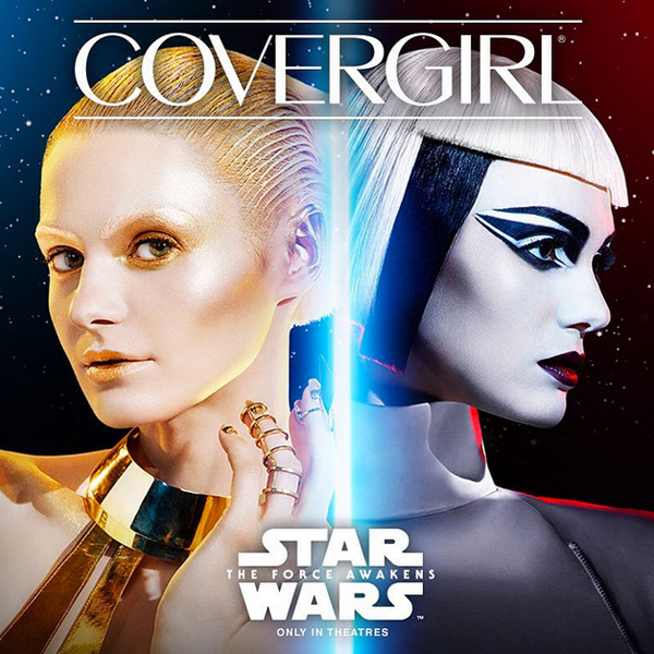 Рекламная кампания Covergirl Star Wars