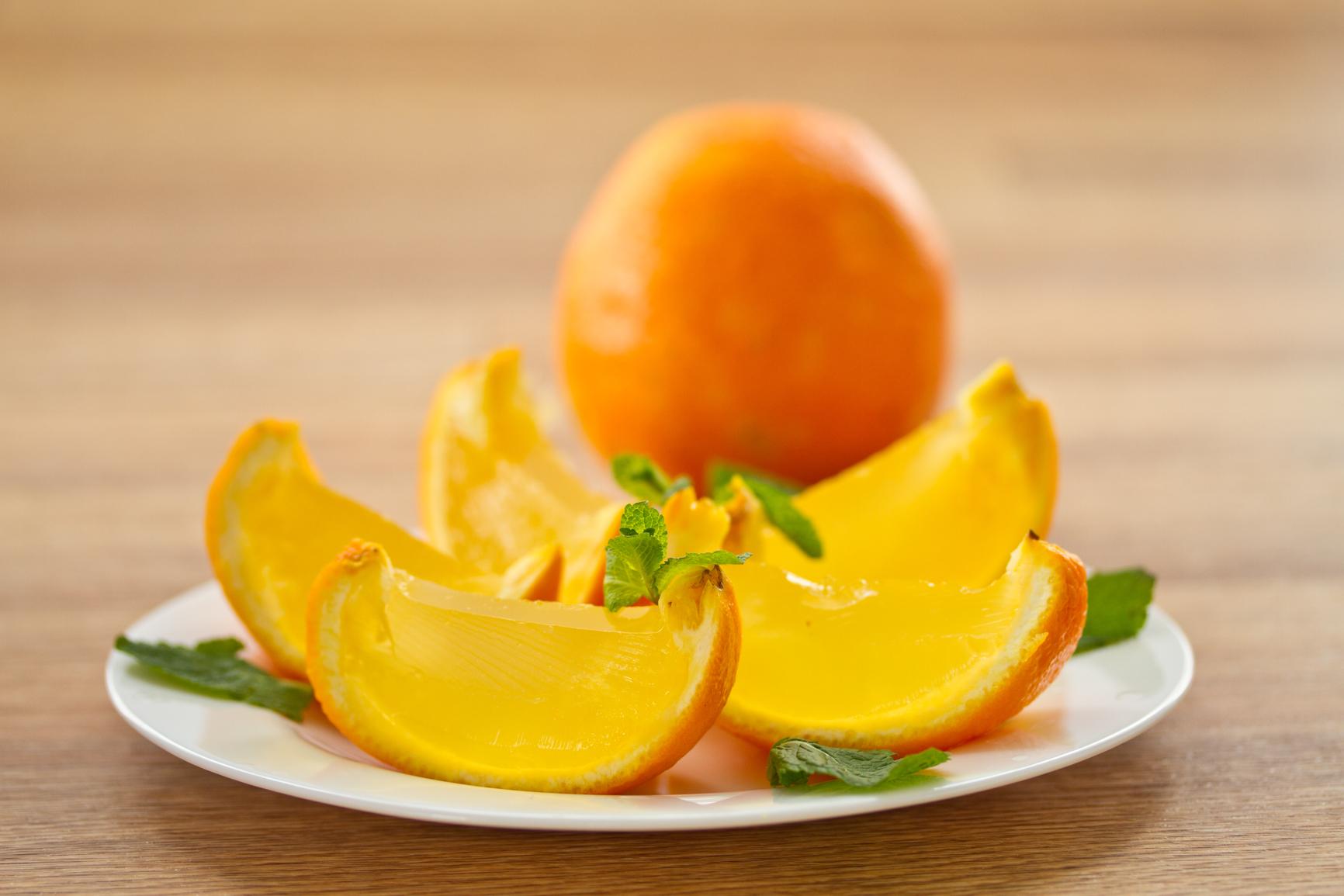 Желе из апельсина рецепт пошагово