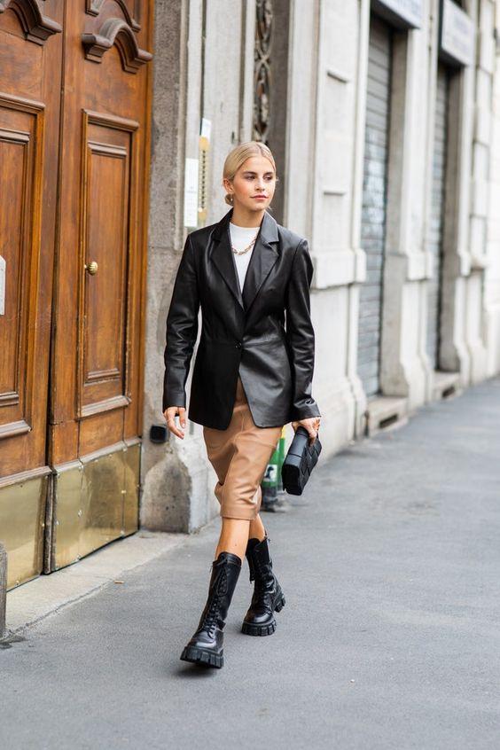 Гид по самым модным кожаным курткам весны 2021