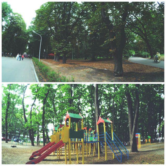 куда пойти с ребенком в Киеве, Пушкинский парк