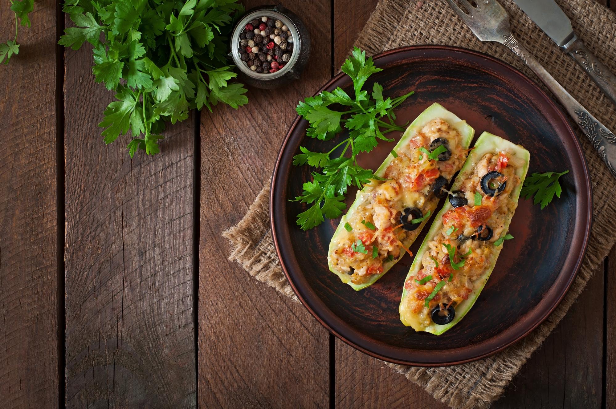 Фаршированные кабачки в кляре: вкусный рецепт