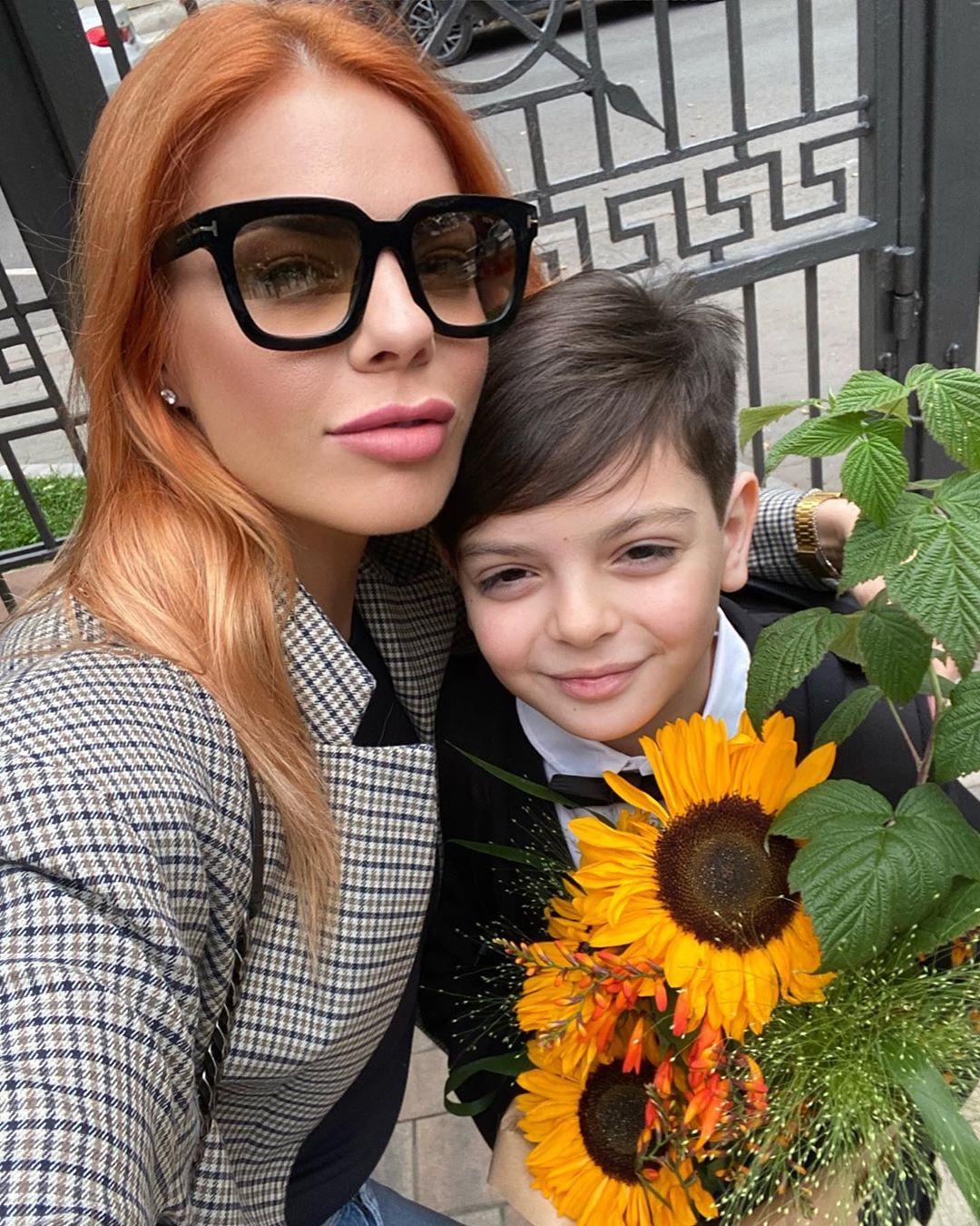 Сын Анастасии Стоцкой невероятно похож на Киркорова
