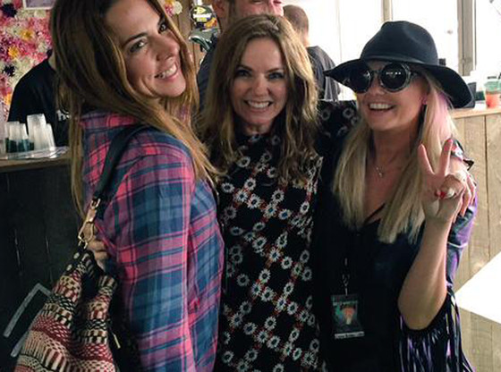 Spice Girls: Мел Си, Джери и Эмма