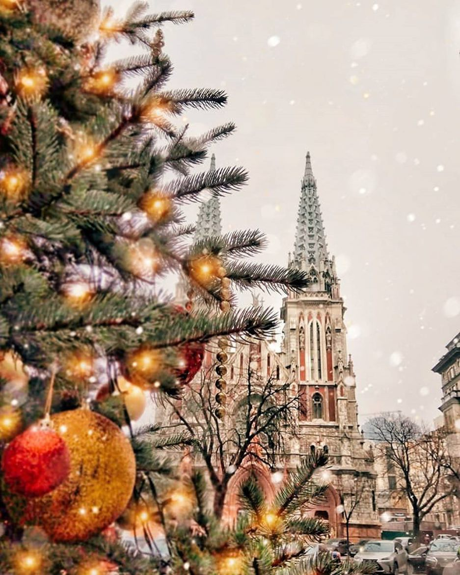 Киев на новогодние праздники