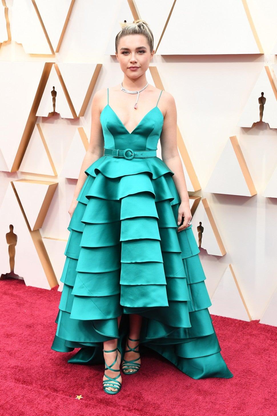 Флоренс Пью в Louis Vuitton на Оскаре 2020