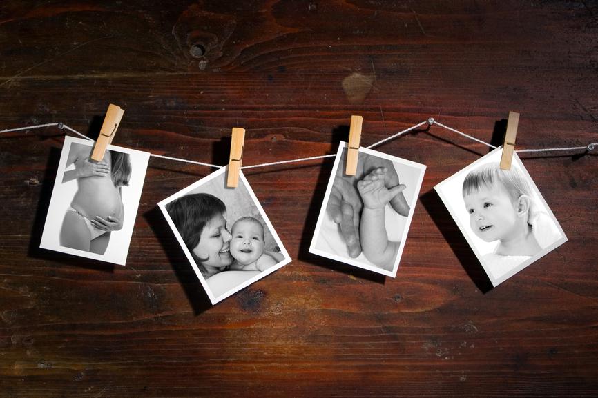 Фотографии на веревке своими руками