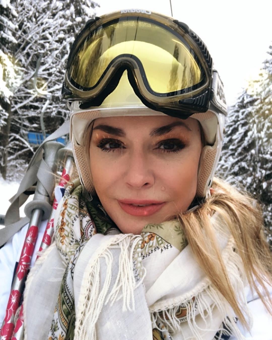 Ольга Сумская в Буковели