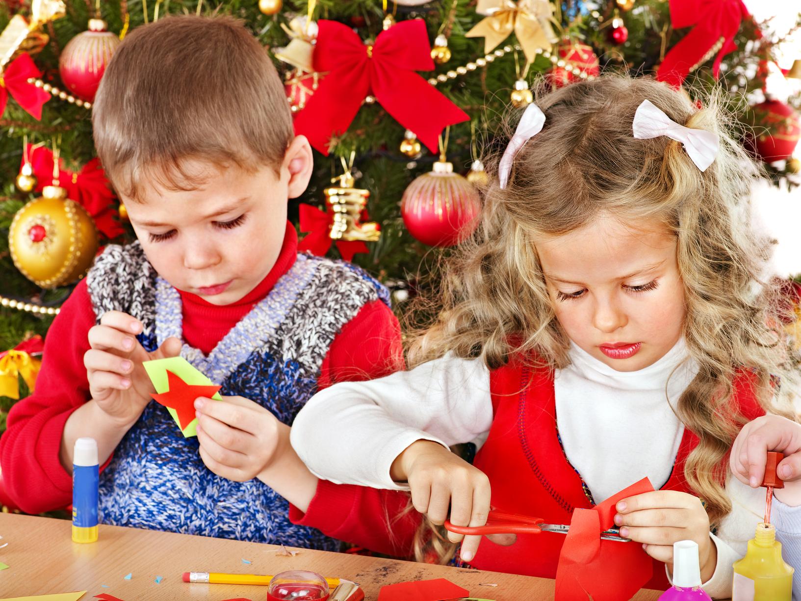 Елочные игрушки которые может сделать ребенок