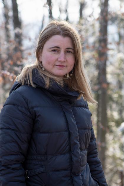 Марія Пасайлюк – лауреатка премії 1-го ступеня з проєктом «Відтворення рідкісного, їстівного, лікувального гриба Polyporus umbellatus»