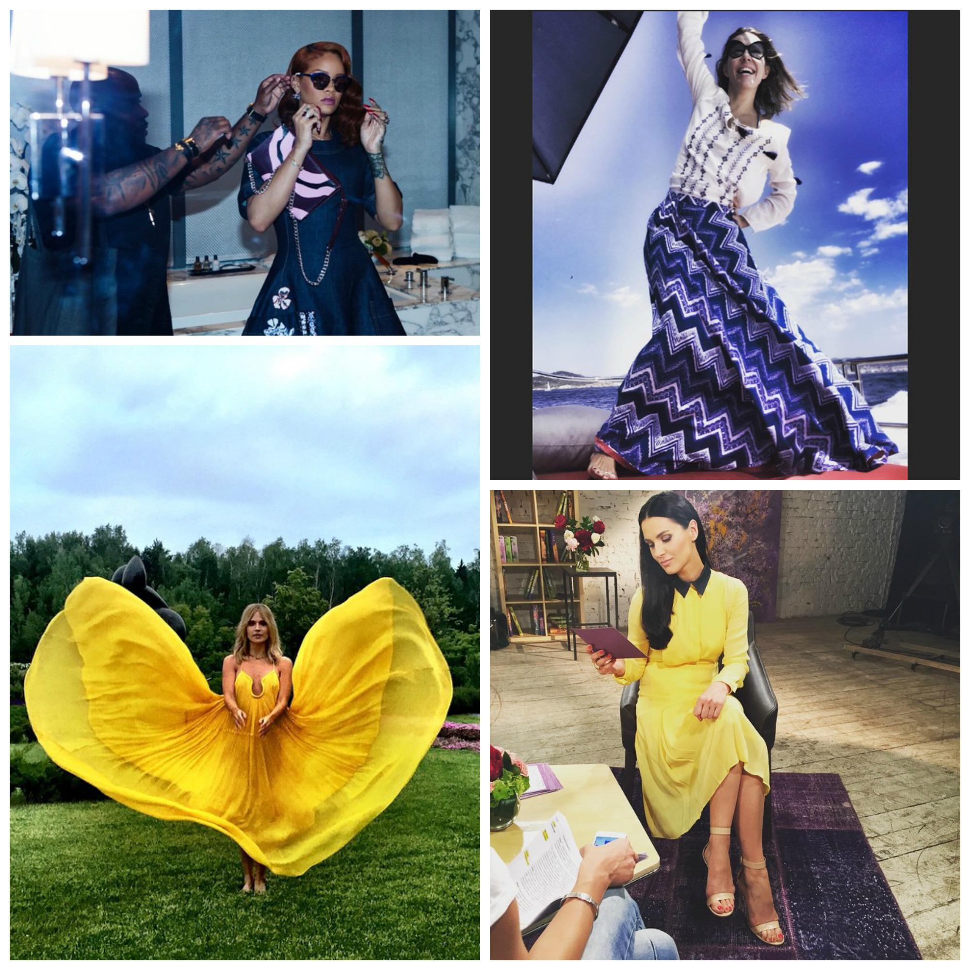Смотри самые стильные снимки звезд в Instagram