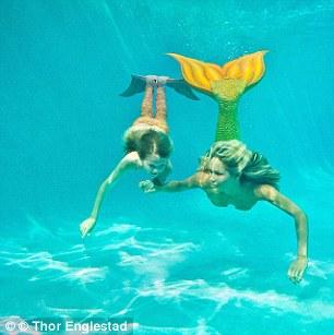 Стать Русалочкой: Дизайнеры создали необычный детский купальный костюм