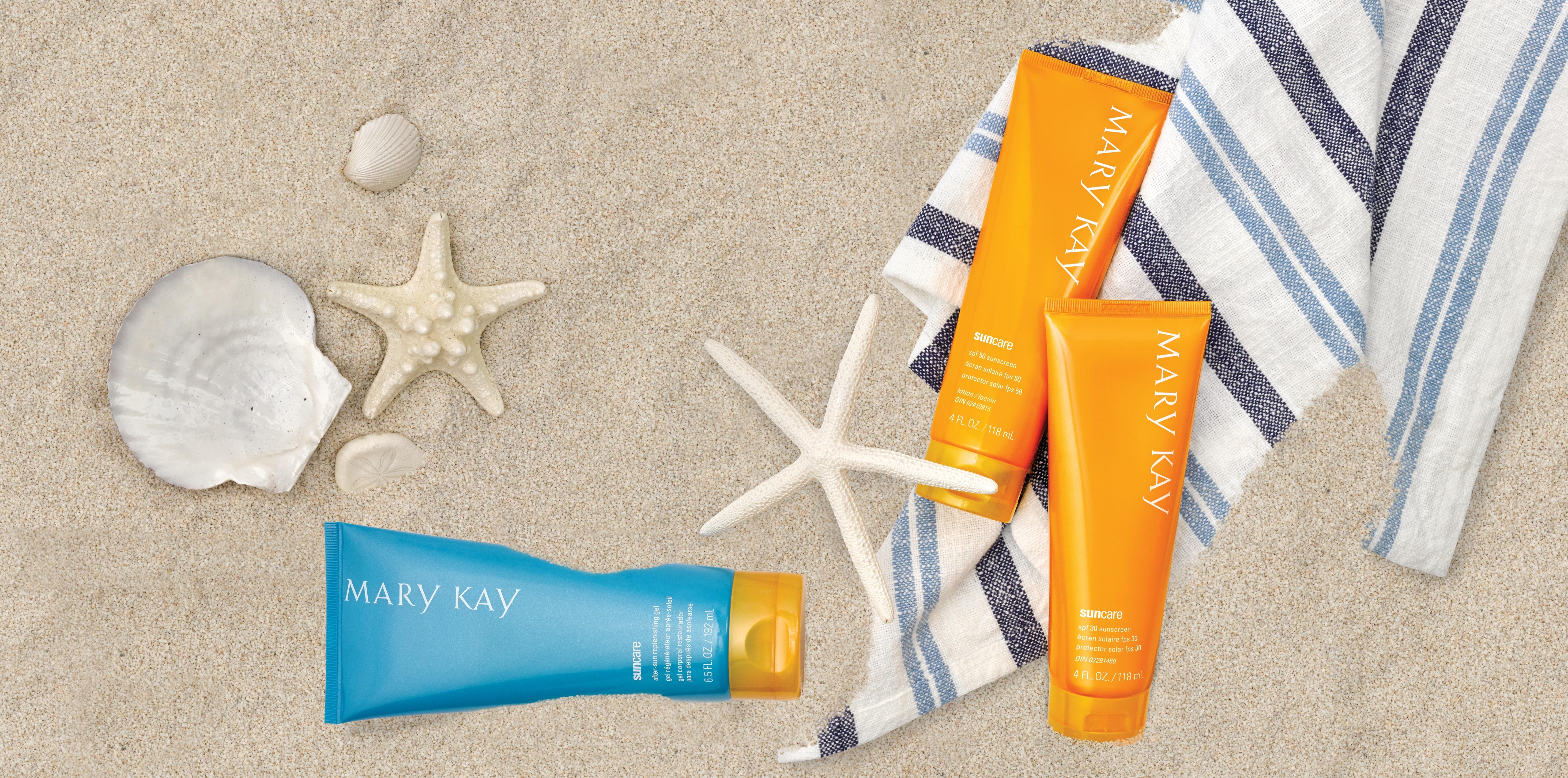Система для защиты кожи от УФ-лучей Mary Kay