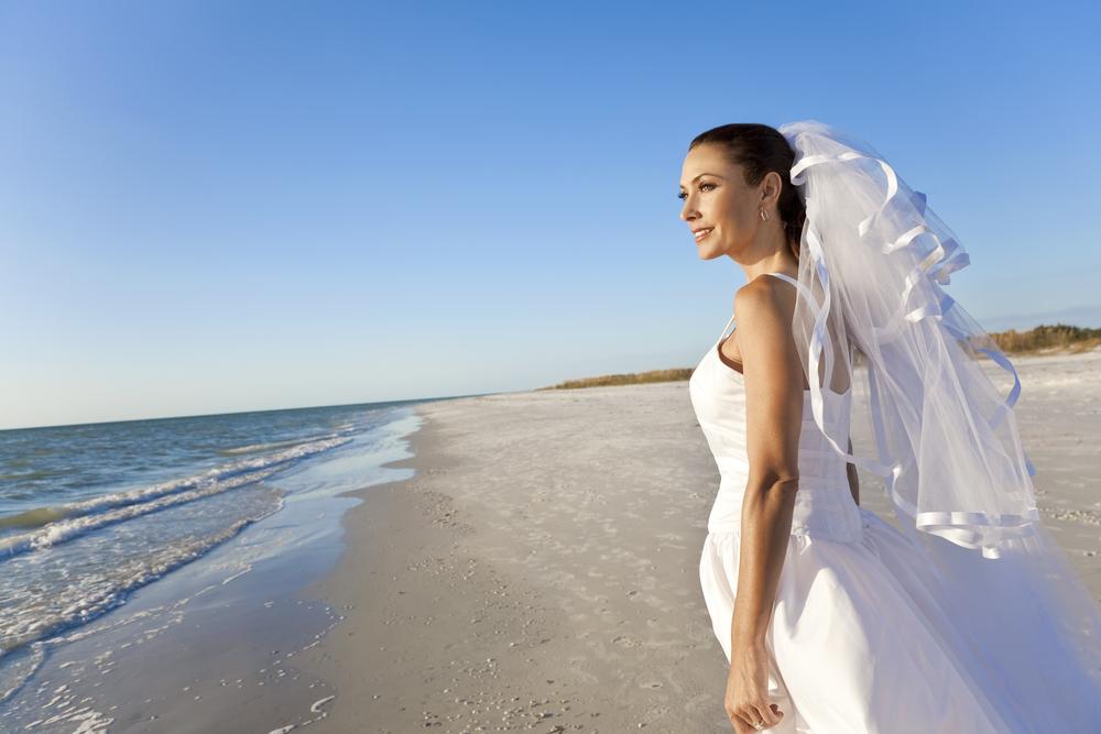 Nye beach wedding