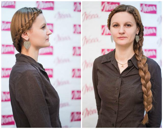 Прелесть косы в стиле Рианны в ее простоте