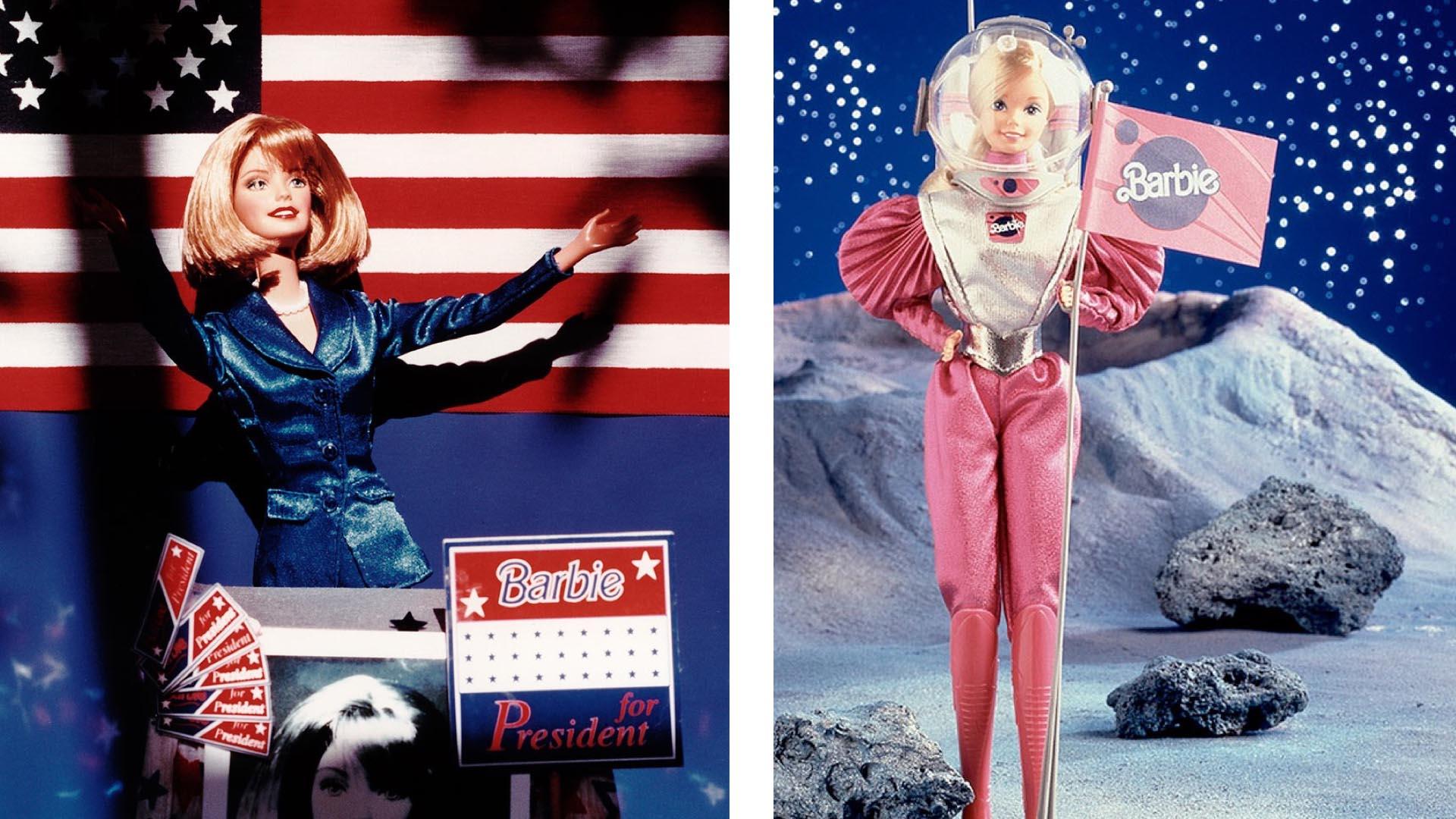 Куклы Барби - не просто красивые модницы, но и ответственные работницы