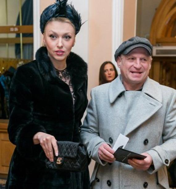 Оля Полякова с мужем Вадимом