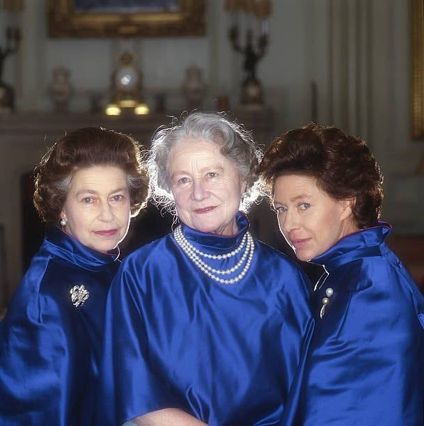 Королева Елизавета, Королева-Мать и Принцесса Маргарет