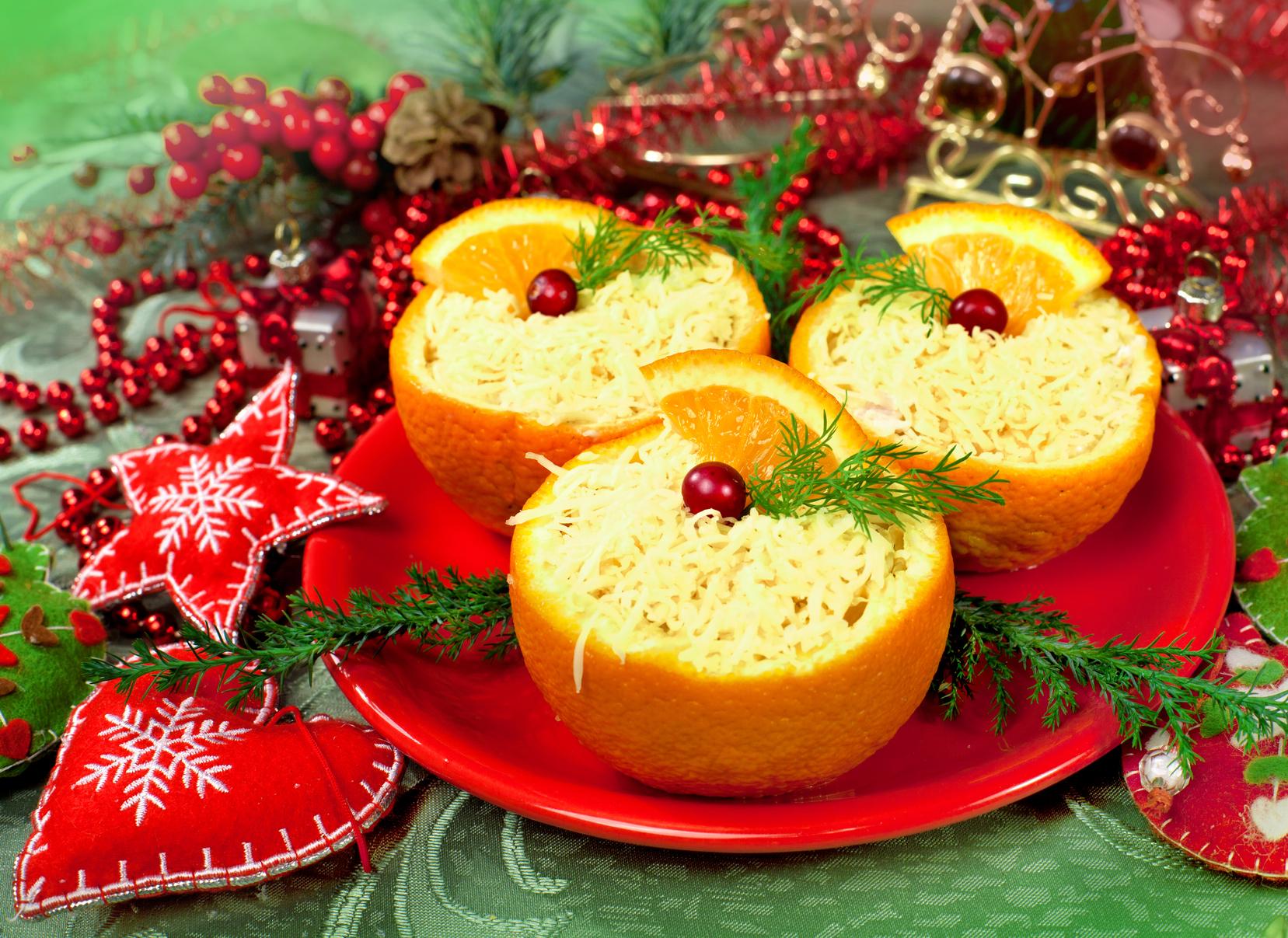 Рецепты новогоднего стола