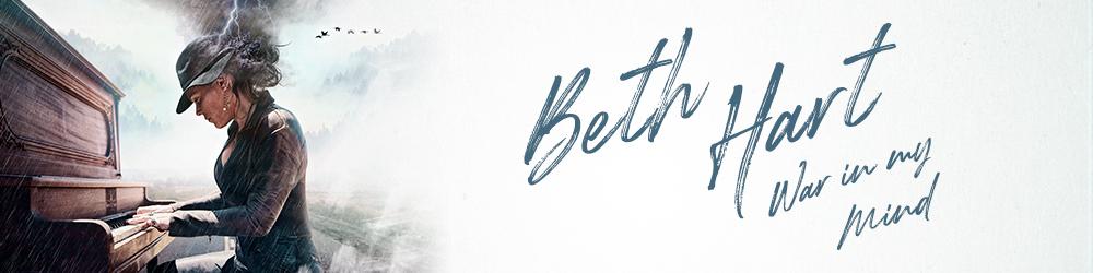 Богиня блюз-рока, Бет Харт, посетит Киев с новым альбомом об истории ее жизни
