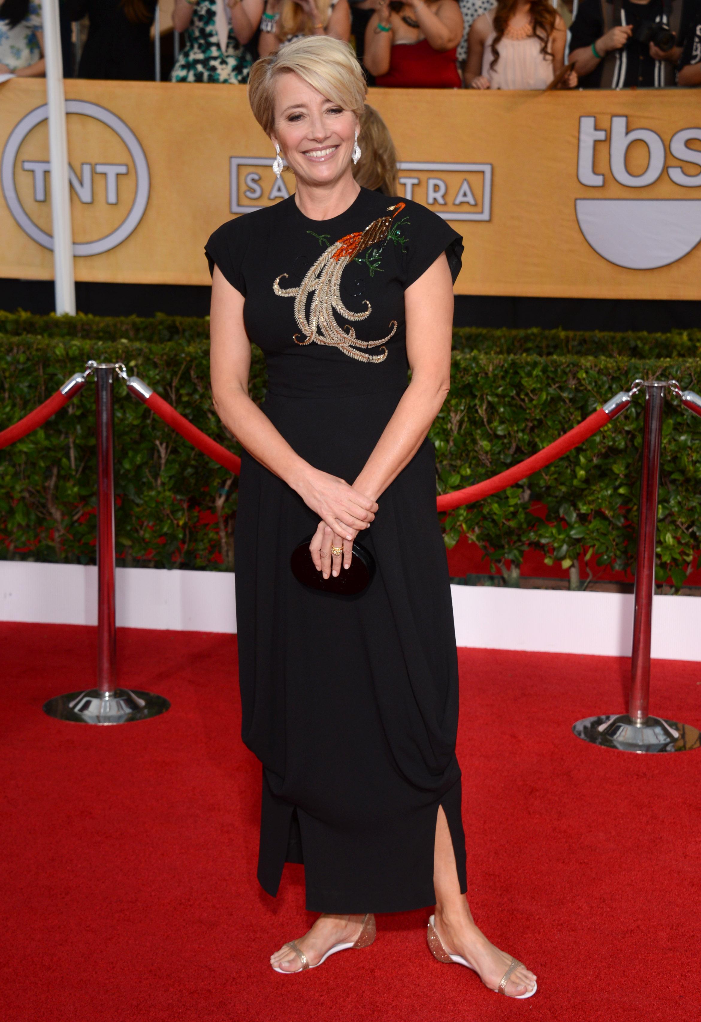 Актриса Эмма Томпсон объявила войну обуви на каблуке
