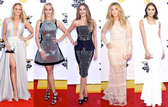 Лучшие наряды на красной дорожке церемонии ACM Awards 2015