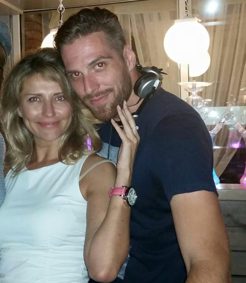 Екатерина Архарова с возлюбленным Асифом