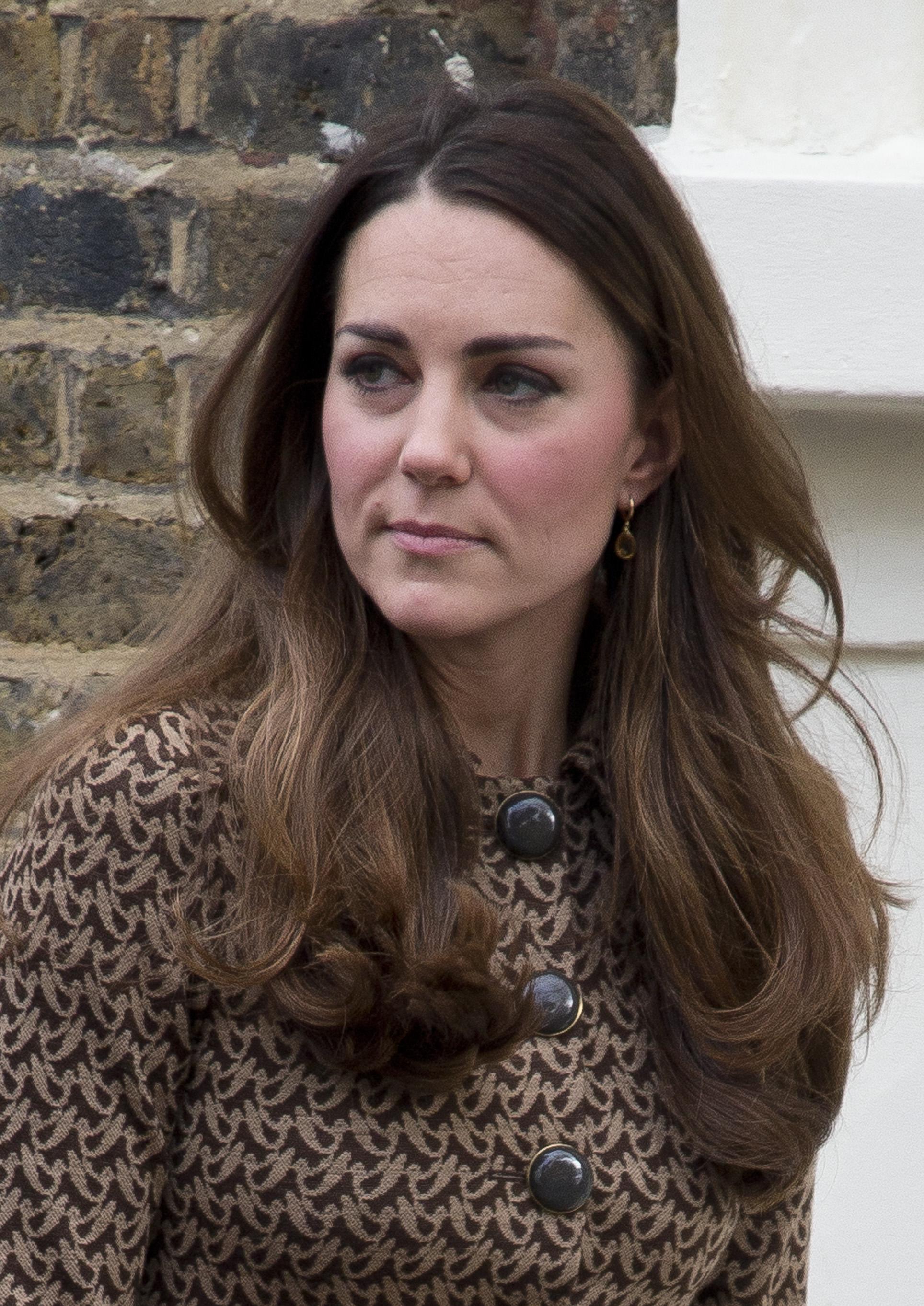 Кейт Миддлтон вновь надела старое пальто