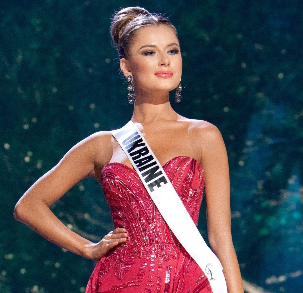 Диана Гаркуша на Мисс Вселенная 2014!