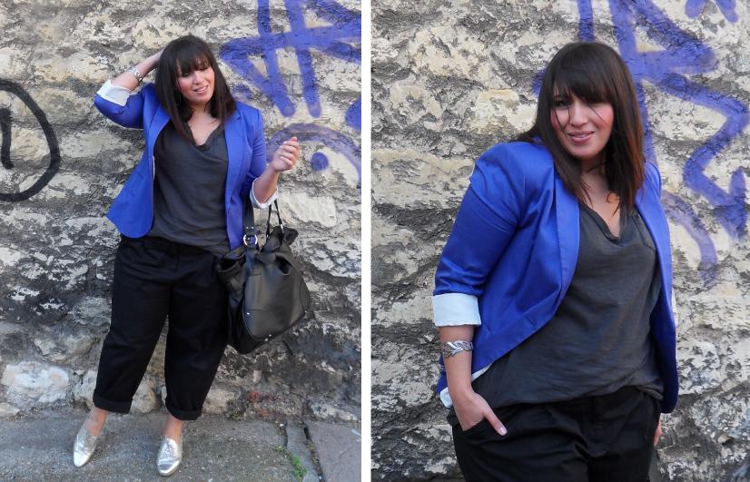 Яркий пиджак – находка для олных модниц
