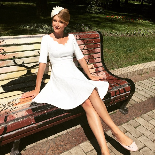 Украинская ведущая Катя Осадчая