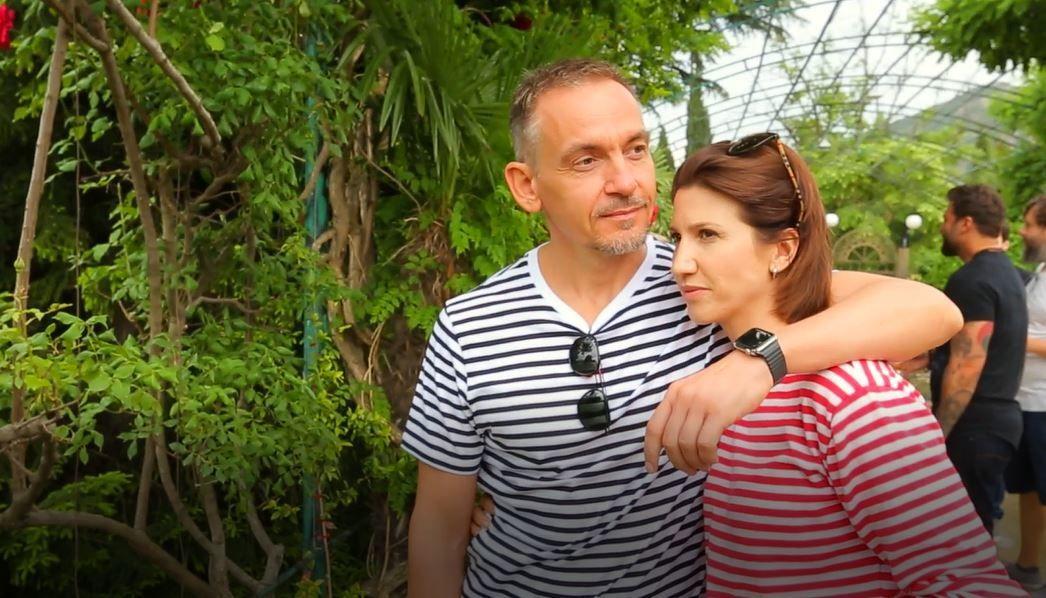 Анита Луценко со своим супругом