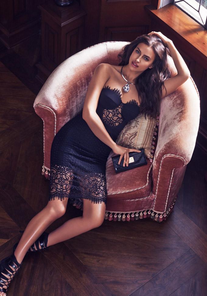 Супермодель Ирина Шейк в новой рекламной кампании для бренда Bebe