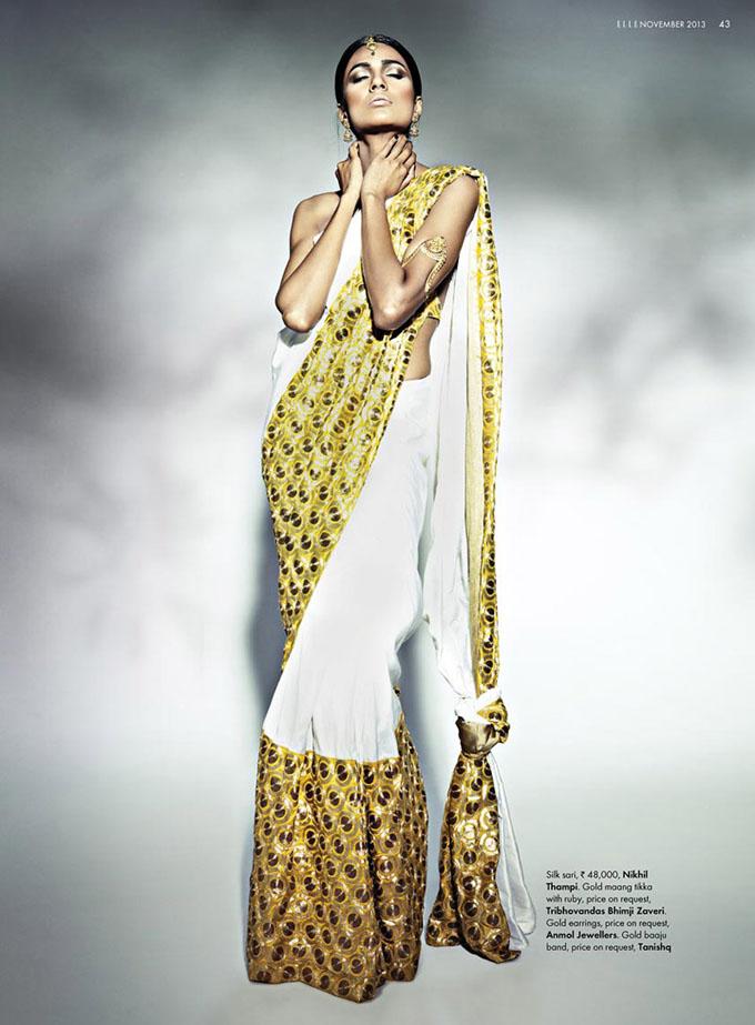 Современная индийская невеста в журнале Elle India