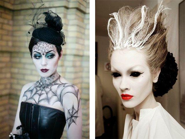 Прически на Хэллоуин: образ ведьмы